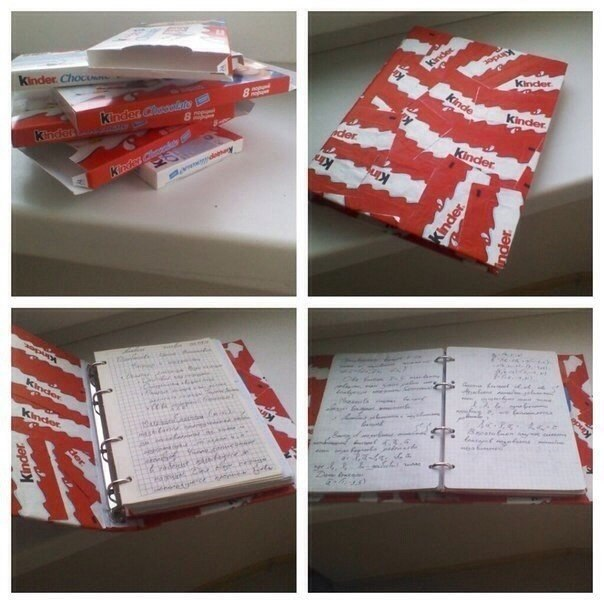 Как украсить дневник своими руками снаружи 61